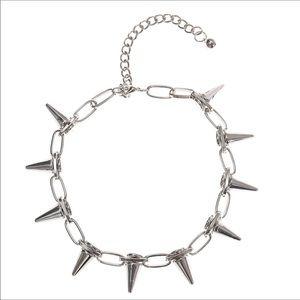 Jewelry - ☠️☠️ SPIKE CHOKER ☠️☠️